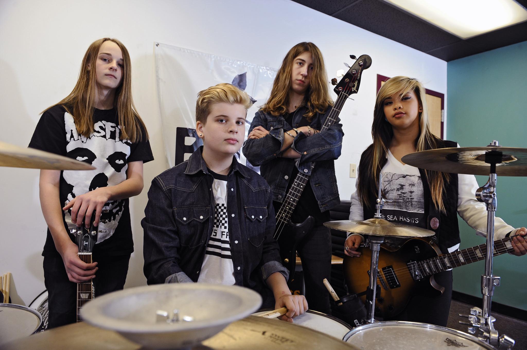 Maryland Band Bad Seed Rising Not The Average Kid Group