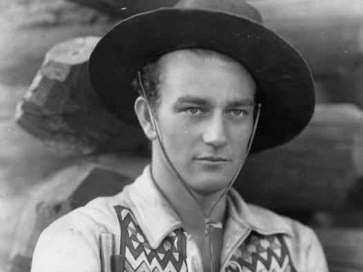 A biography of john wayne an actor