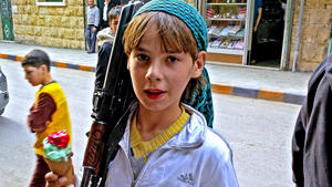 In Syria, war is woven into childhood