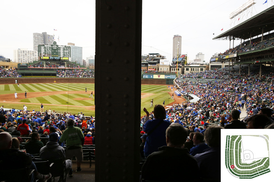 Worst Seats In The Friendly Confines Chicago Tribune