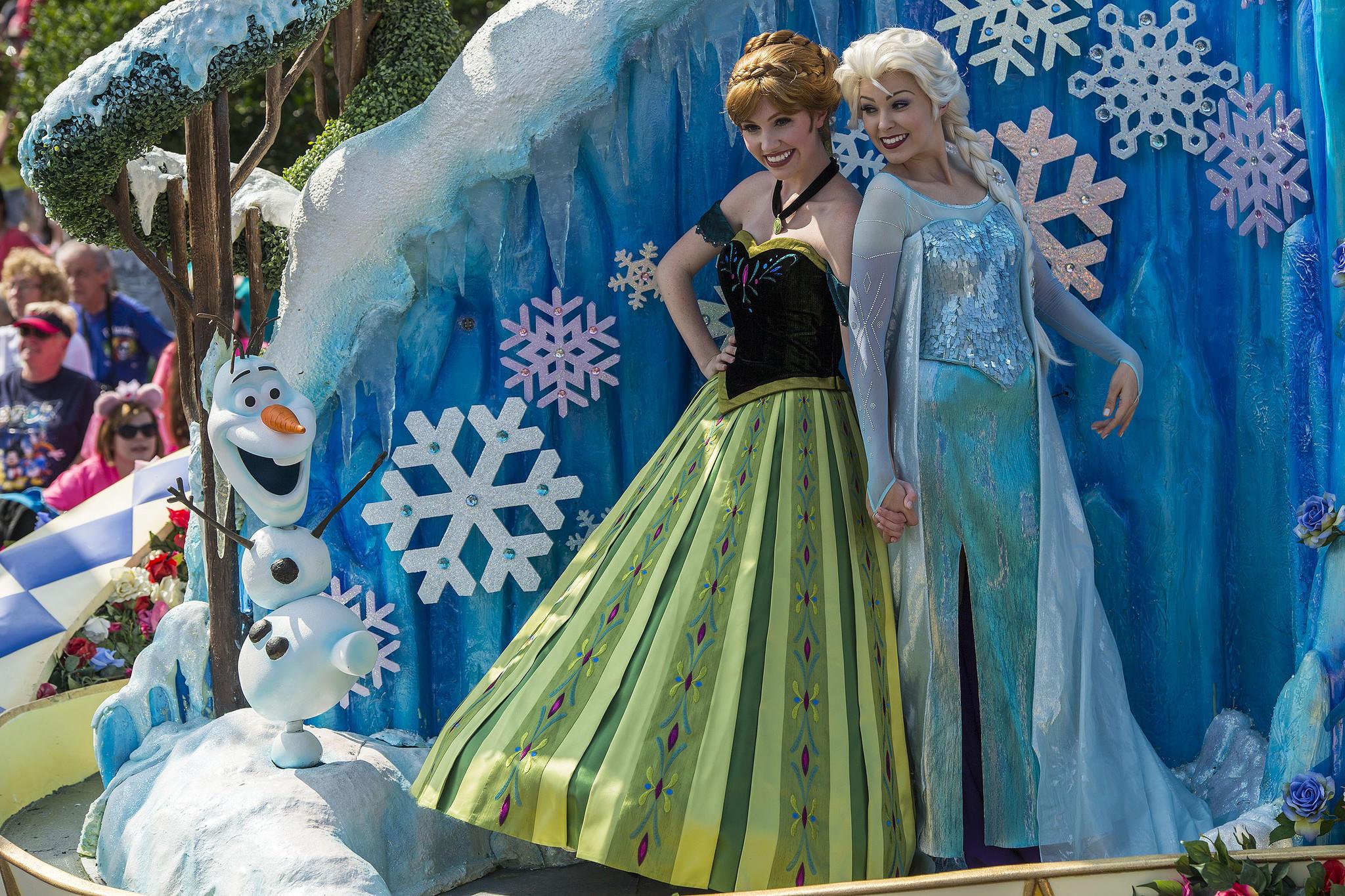 Frozen Music In Disneys Festival Of Fantasy Parade Tribunedigital