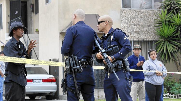 Report Raises Doubts About Ambush Of 2 LAPD Officers – Los Angeles