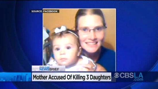 Mother, 30, Arrested In Fatal Stabbing Of 3 Daughters In Carson