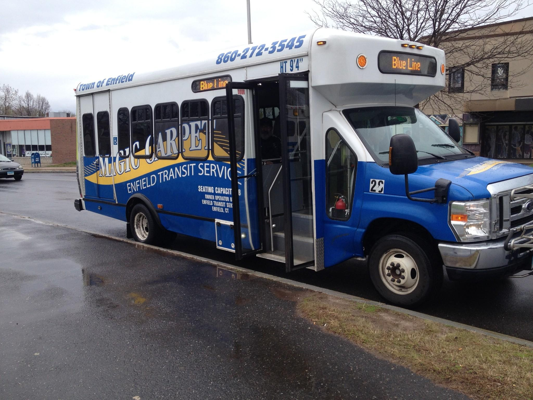 Floor Plan Th Street Magic Carpet Bus Service Enfield Ct