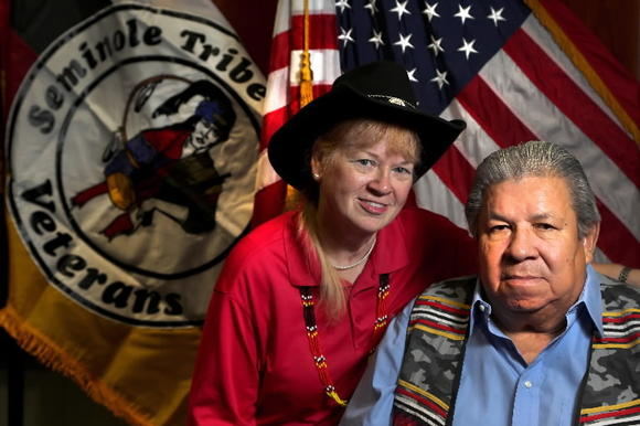 Stephen Bowers and his wife Elizabeth fought to see a statue and educational center approved in Washington to honor Native Americans.