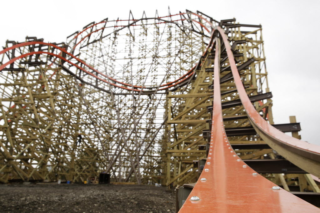 Six Flags Delays Opening Of Goliath Roller Coaster Lake County