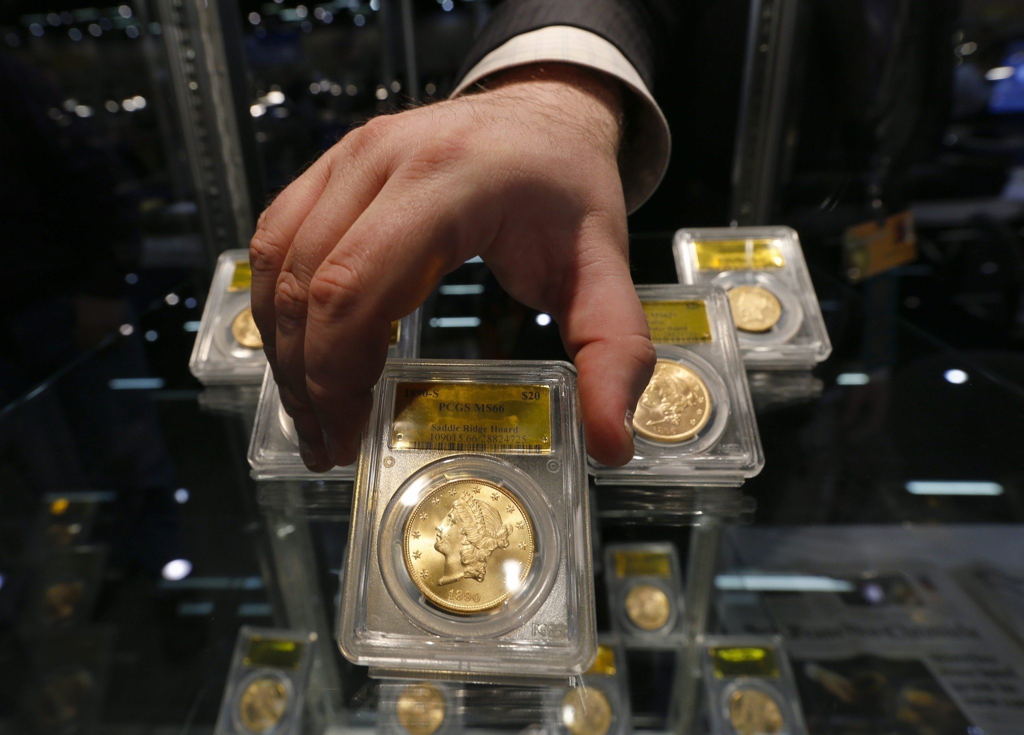 Buried gold coins found in California backyard go on sale ...