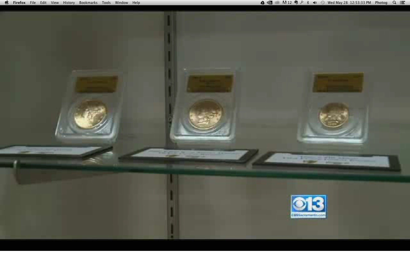 California Gold Coins Found In Backyard rare gold coins found in backyard on display before auction - sun