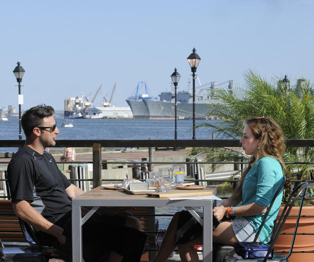 Top Outdoor Dining Spaces At Baltimore Restaurants