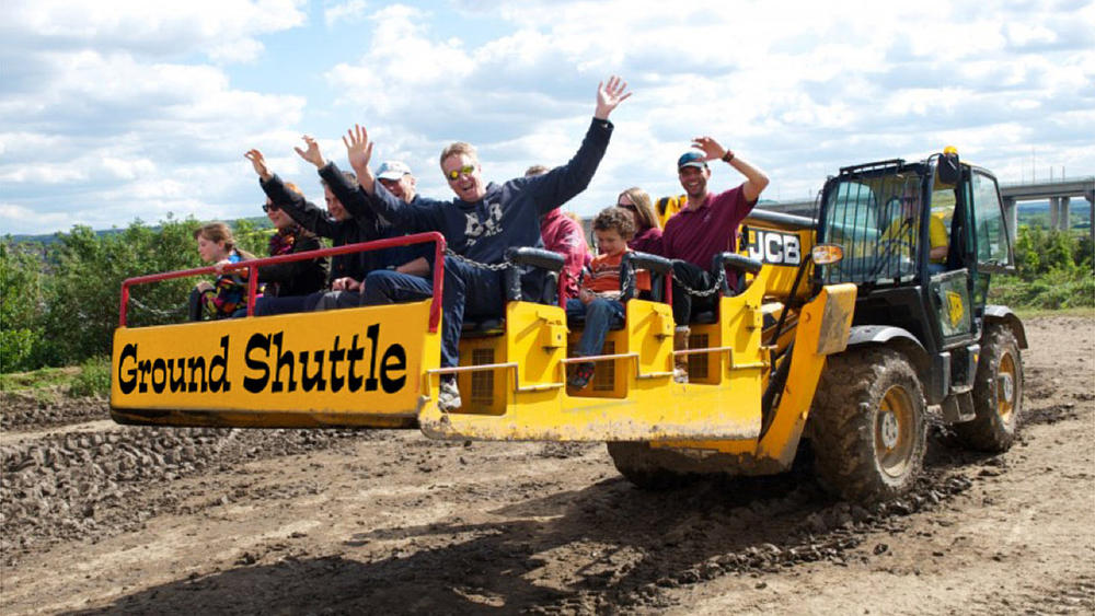 Diggerland heavy machinery theme park