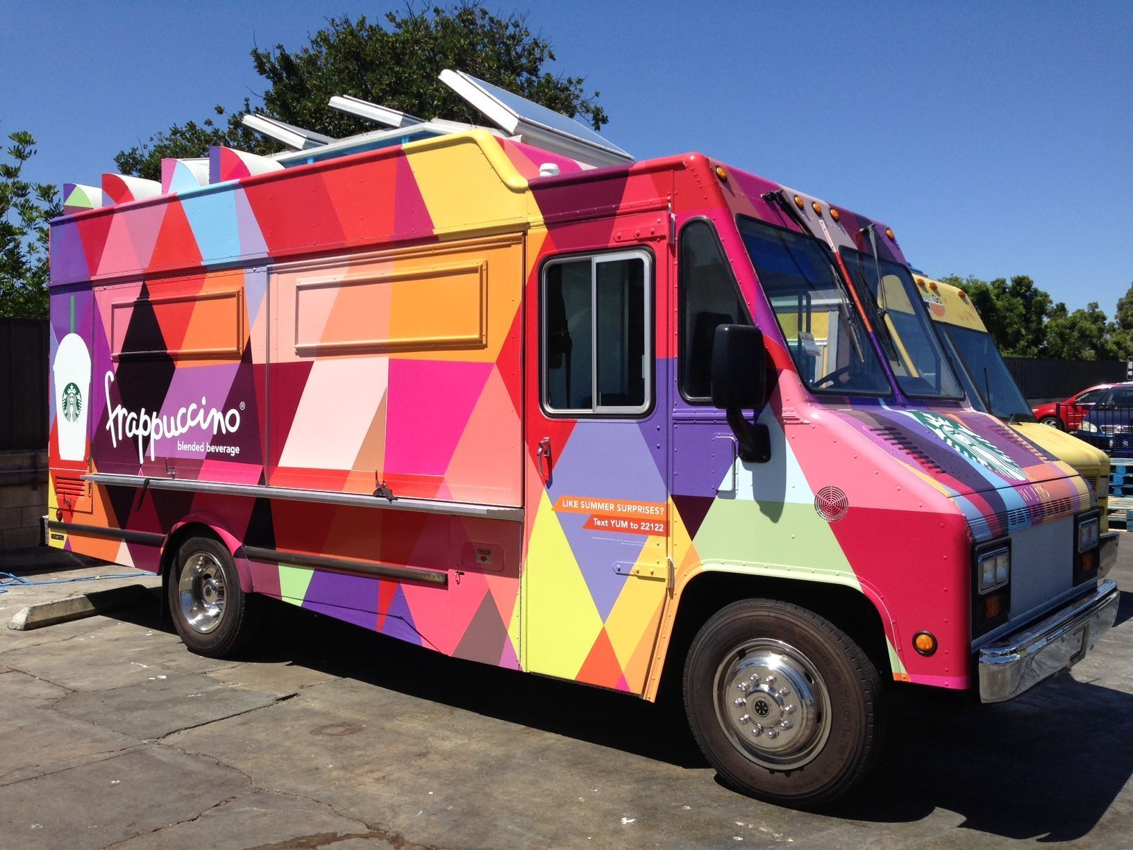 Starbucks Frappuccino Truck Debuts On The Streets Of L A Chicago