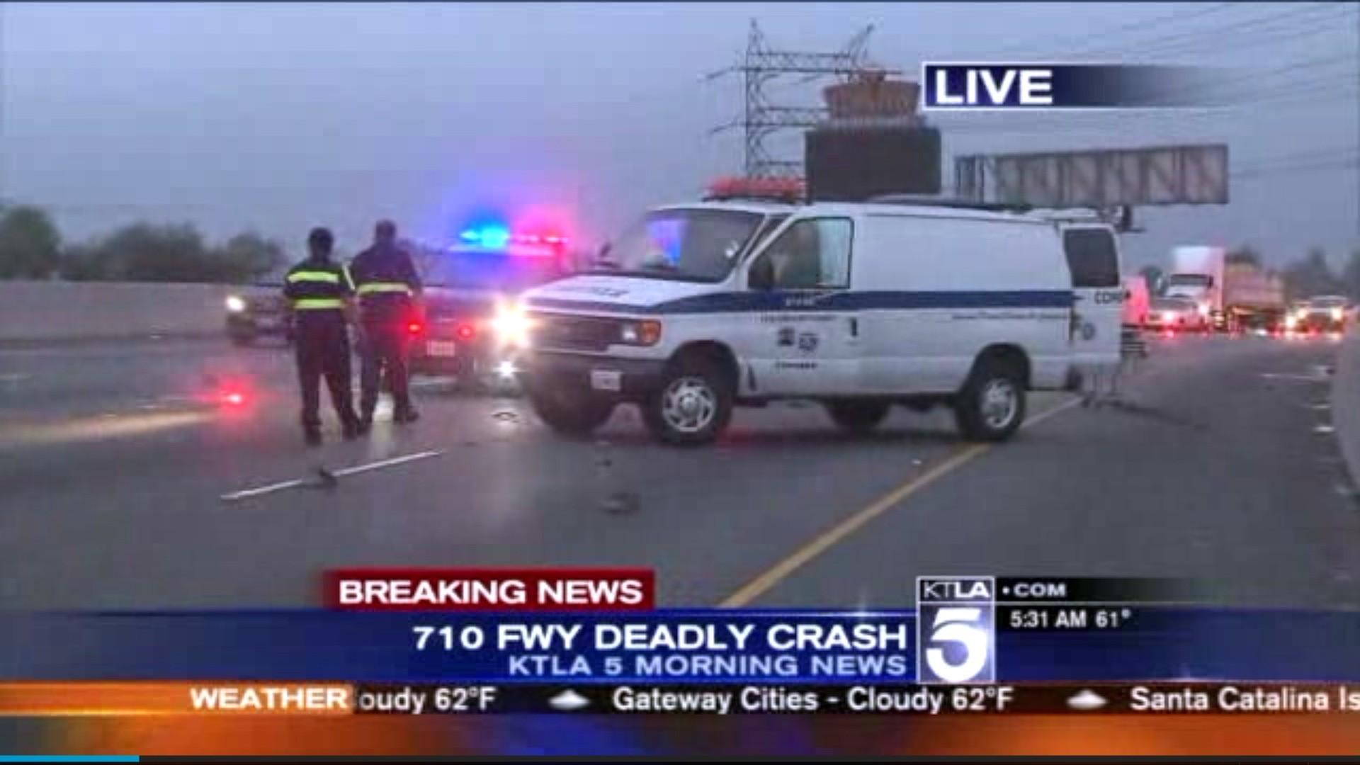 Sig Alert Issued On 710 Freeway After Fatal Crash 1 Driver Arrested
