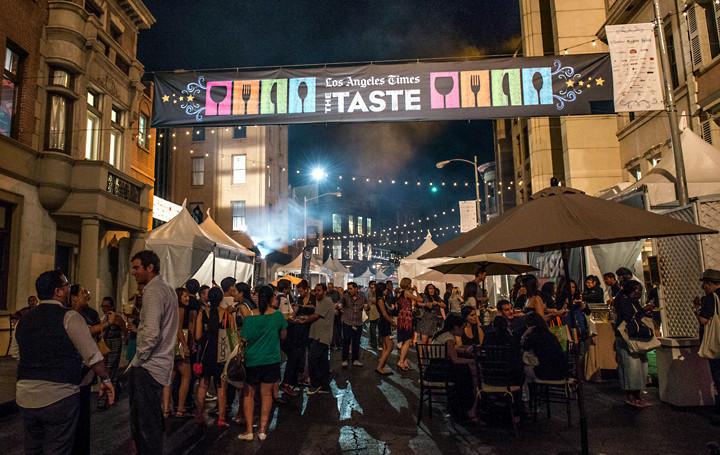 Los Angeles Food And Wine Festival Paramount Studios