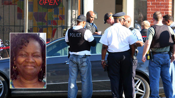 Woman killed by stray bullet