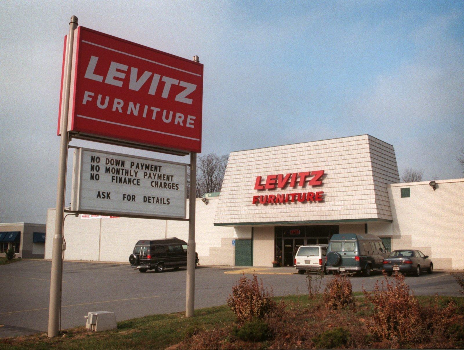 1998 Levitz Furniture Baltimore Sun
