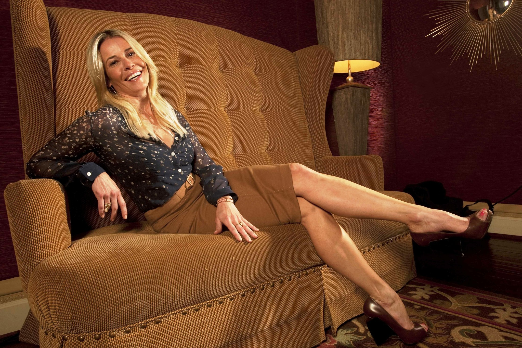 Chelsea Handler On Late-night Television