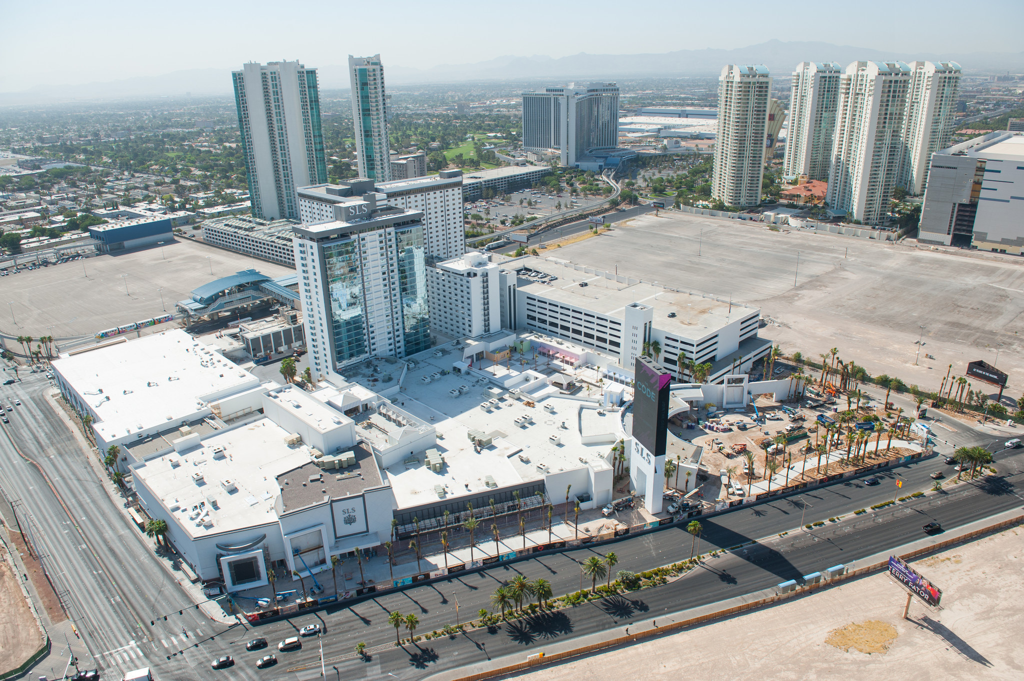 Sls Las Vegas Location