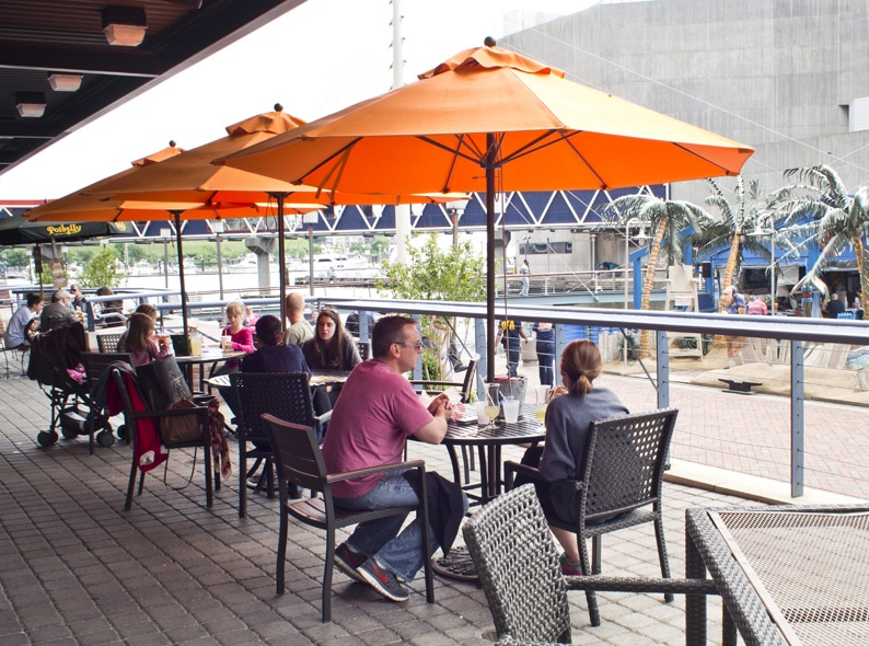 OUTDOOR DINING - Baltimore City Paper