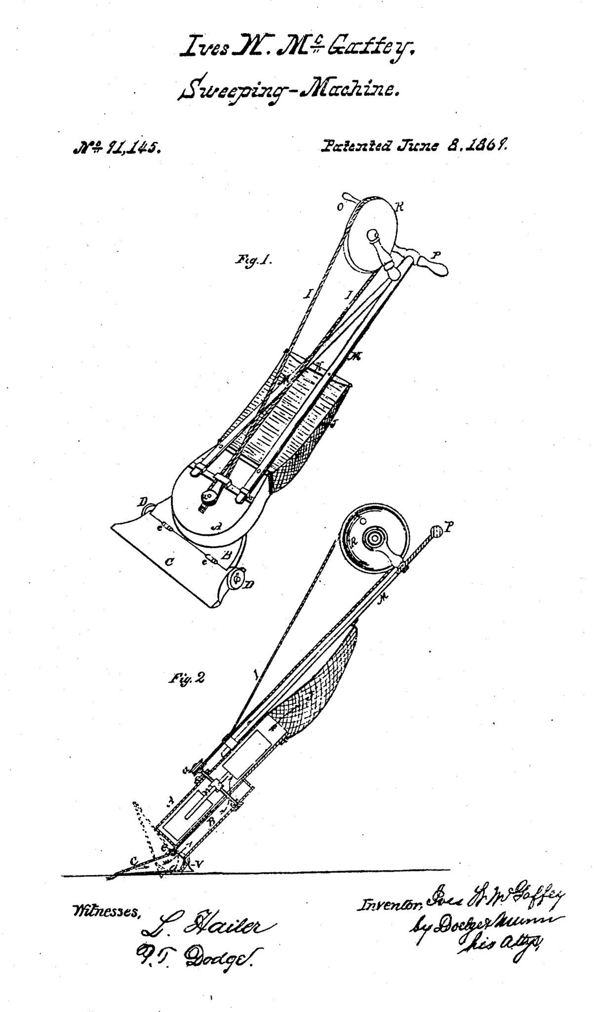 The Vacuum Cleaner  1868