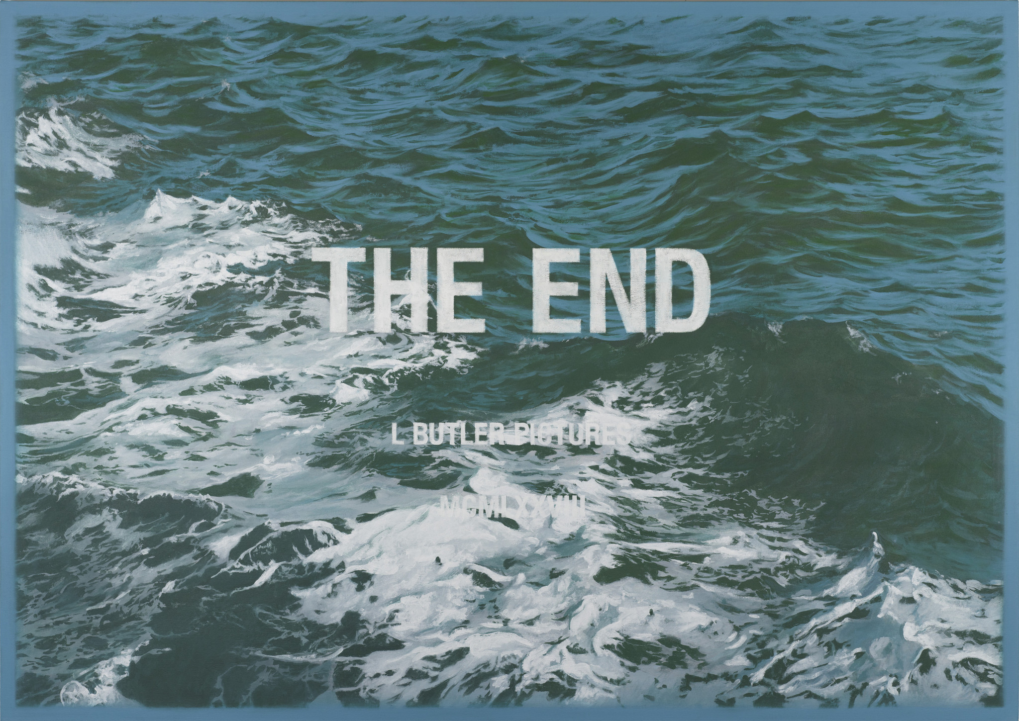 Ed Ruscha Review For Luke Butler The End Is Just The Beginning