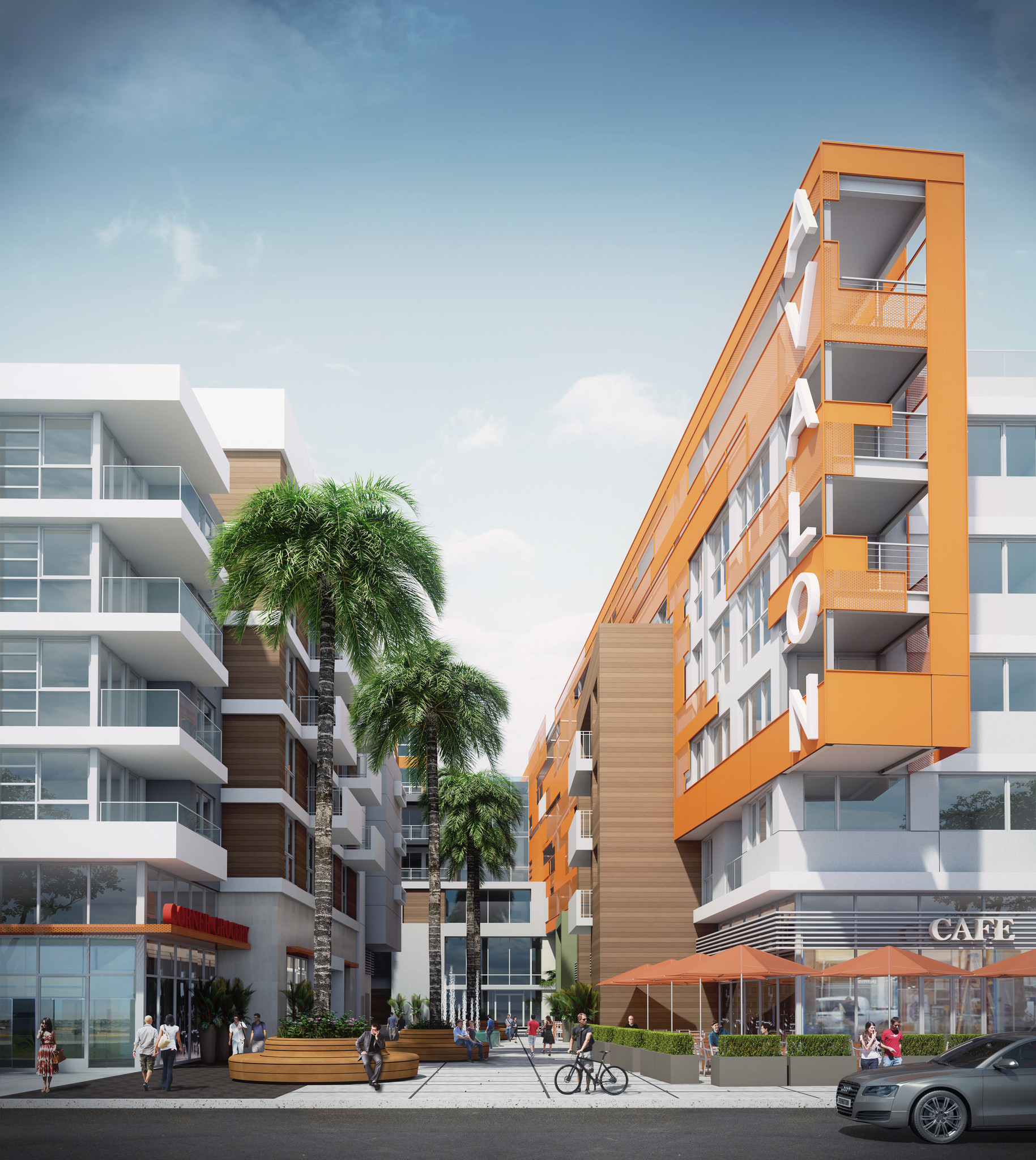 Avalon Apartments: Construction Underway At Movietown Plaza Site In West