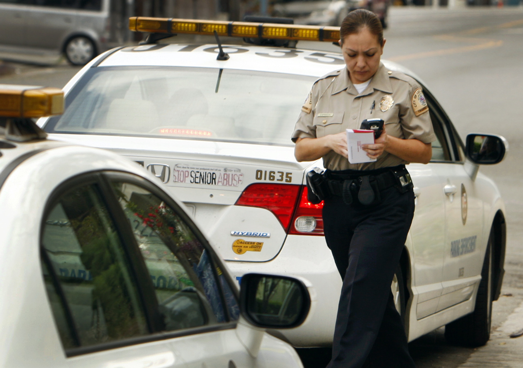 Nyc Traffic Ticket >> What should a parking ticket in L.A. cost? - LA Times