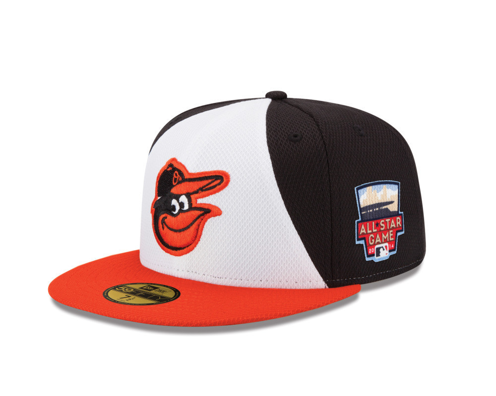 6c5fea40504b61 Baltimore Orioles' special-edition All-Star Game hats barely  distinguishable from regular hats - Baltimore Sun
