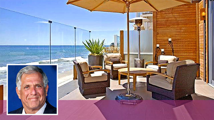 Julie Chen's Malibu beach house