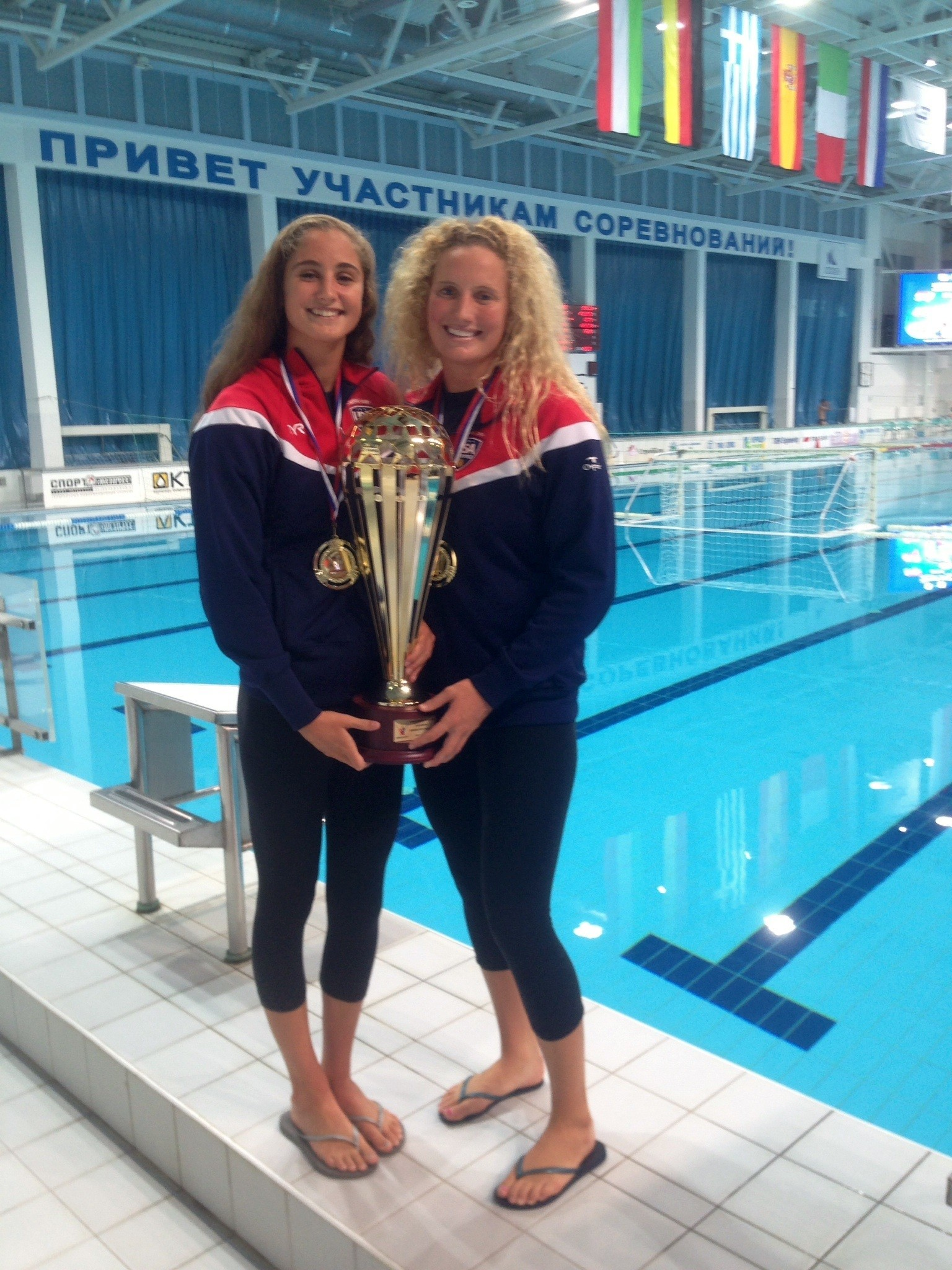 Gilchrist, Musselman win Kirishi Cup with US women's water polo team - Daily Pilot