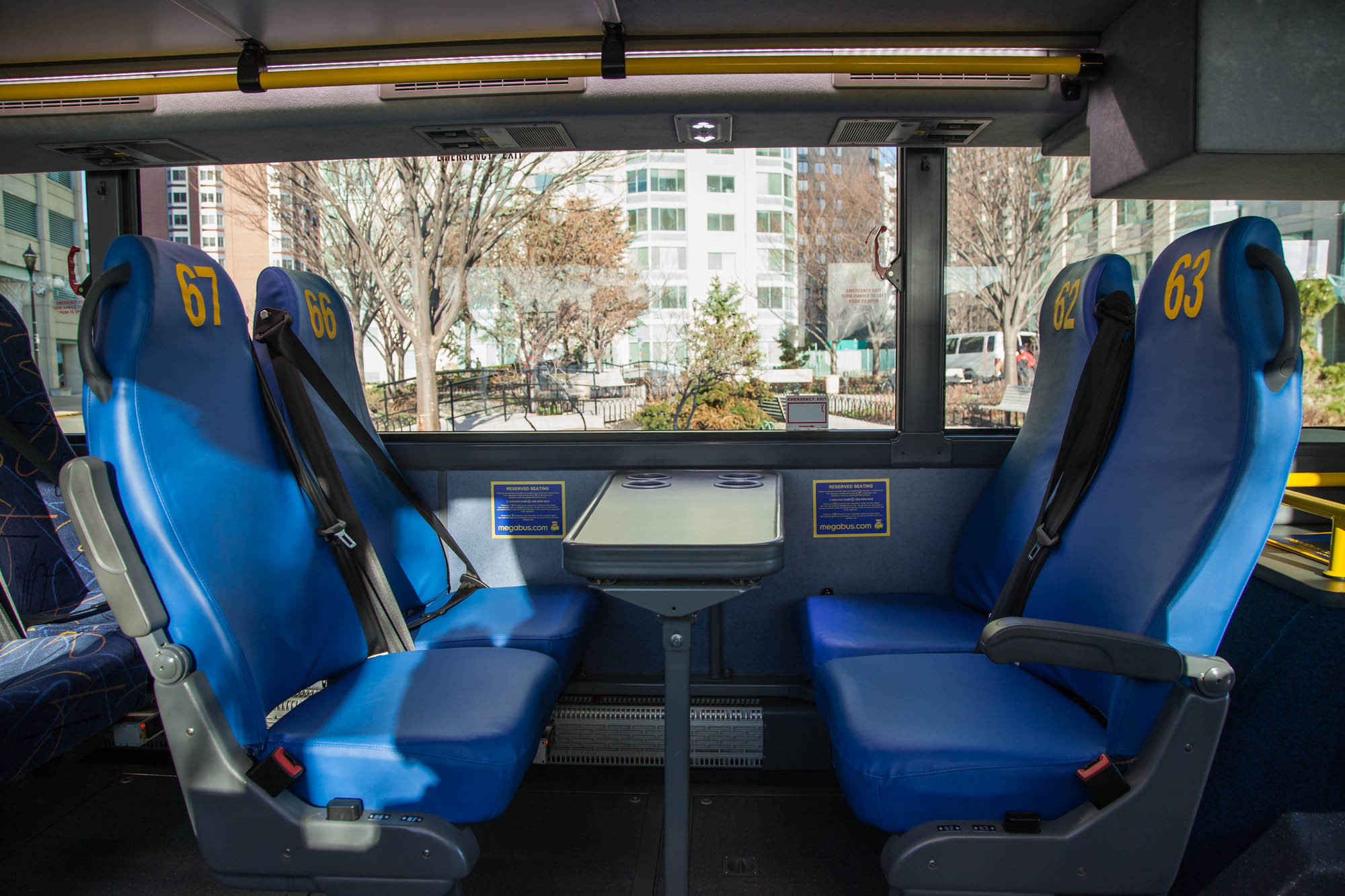 Megabus To Offer Assigned Seating On West Coast Trips