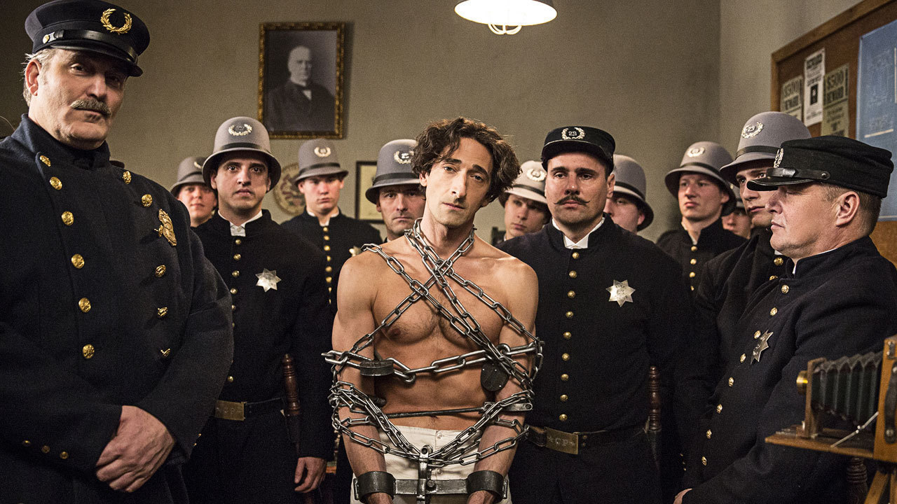 39 houdini 39 miniseries starring adrien brody to air sept 1 2 on history la times. Black Bedroom Furniture Sets. Home Design Ideas