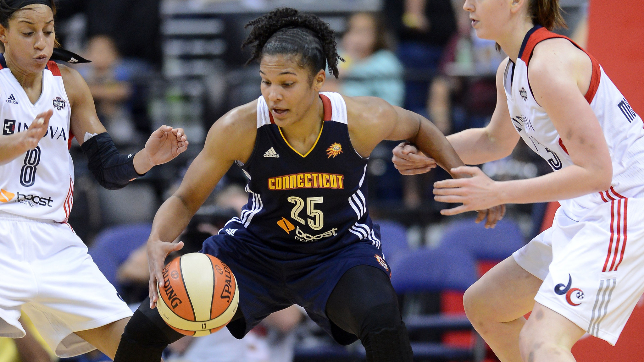 Former Terps Standout Alyssa Thomas Adapting To Life As A