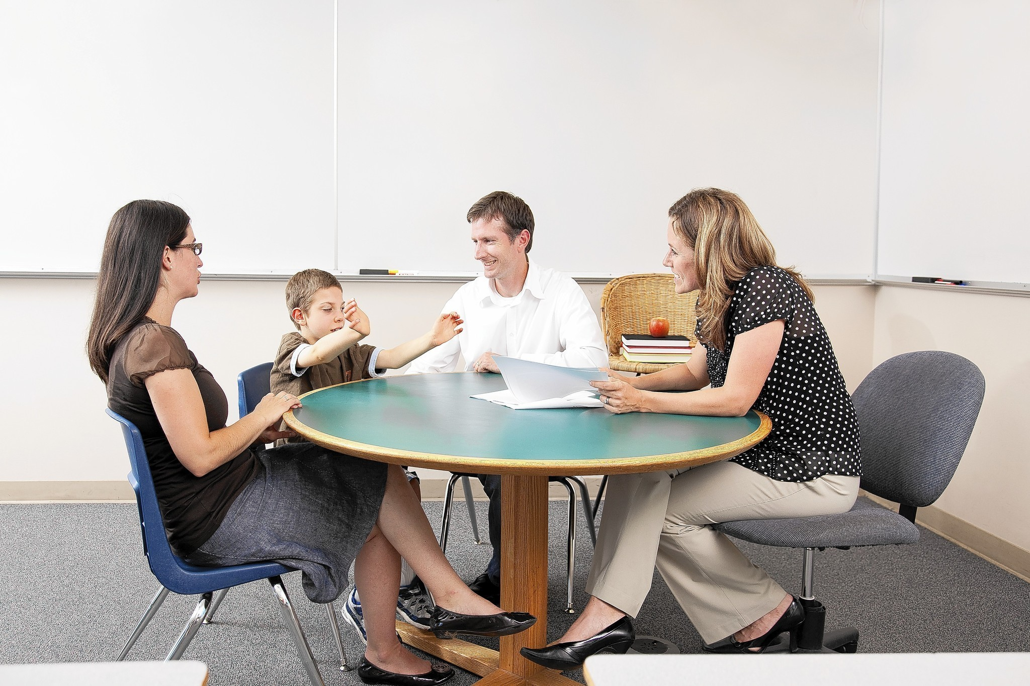 Family-Teacher Partnerships: Support for Parents of Children with Disabilities