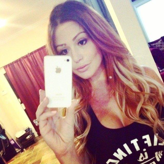 Jersey Shores Jwoww Farley Goes Blond After Having Baby Girl