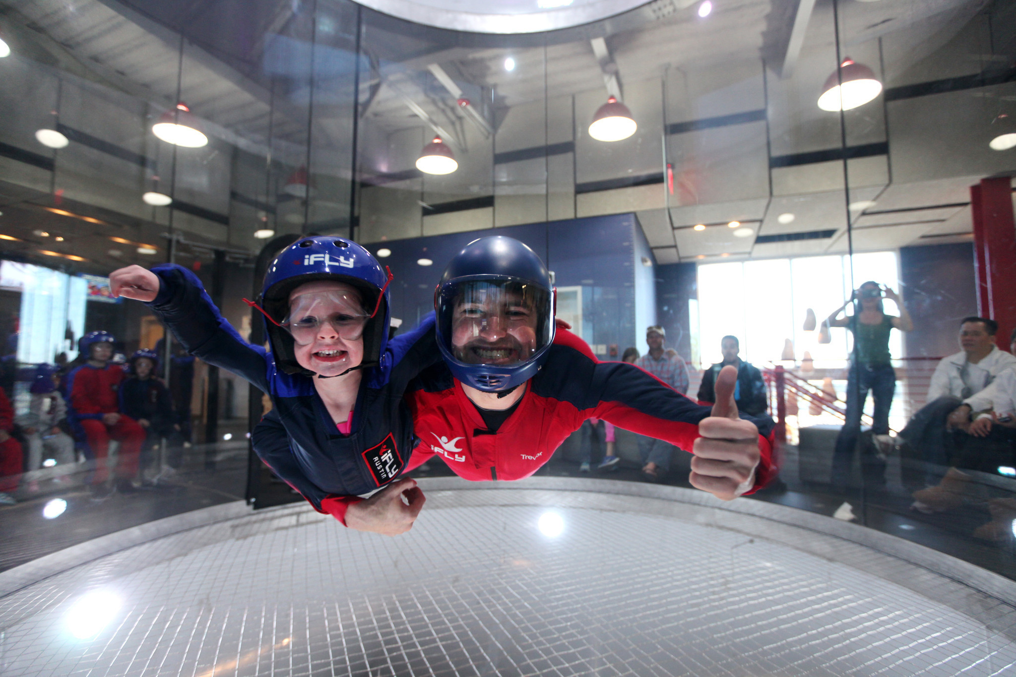 Skydive In The Safety Of A Wind Tunnel At Ifly Chicago