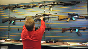 Federal judge upholds assault rifle ban