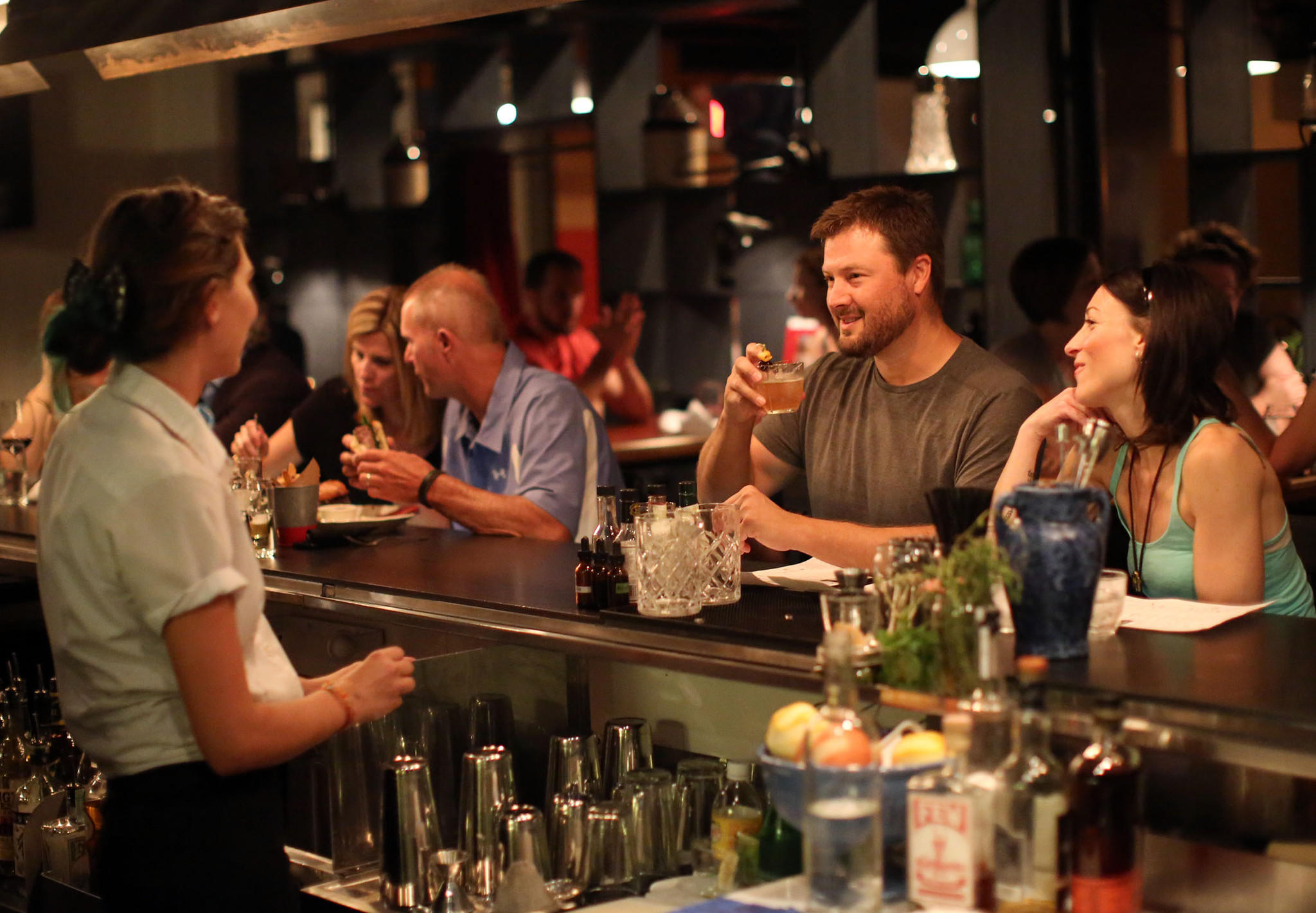 Beating the heat at le garage beer bar frites in hampden - Le garage restaurant montbonnot ...