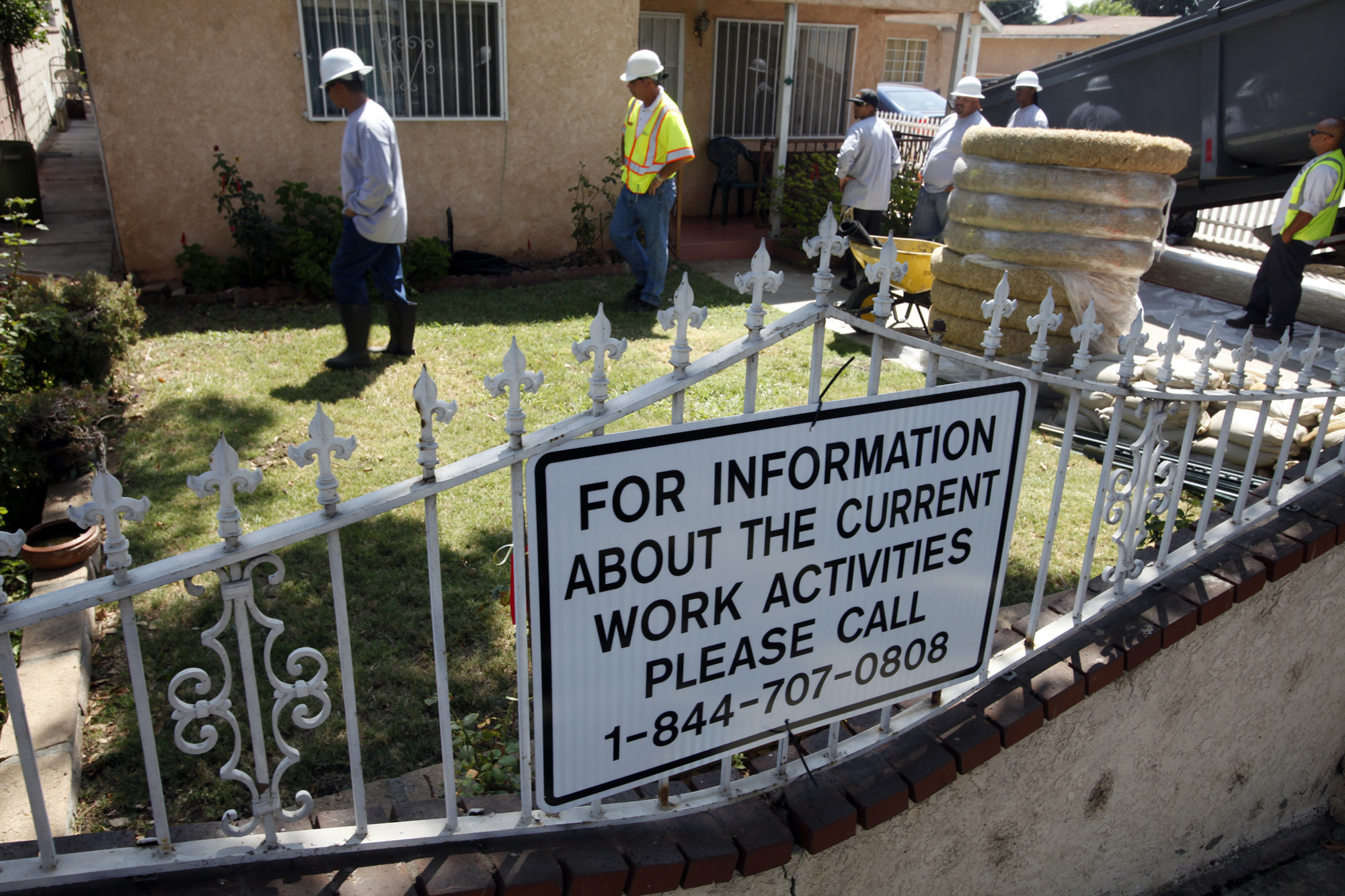 L A County Supervisors Blast Cleanup Of Only 2 Homes Near