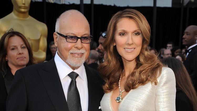 Celine Dion dan suaminya