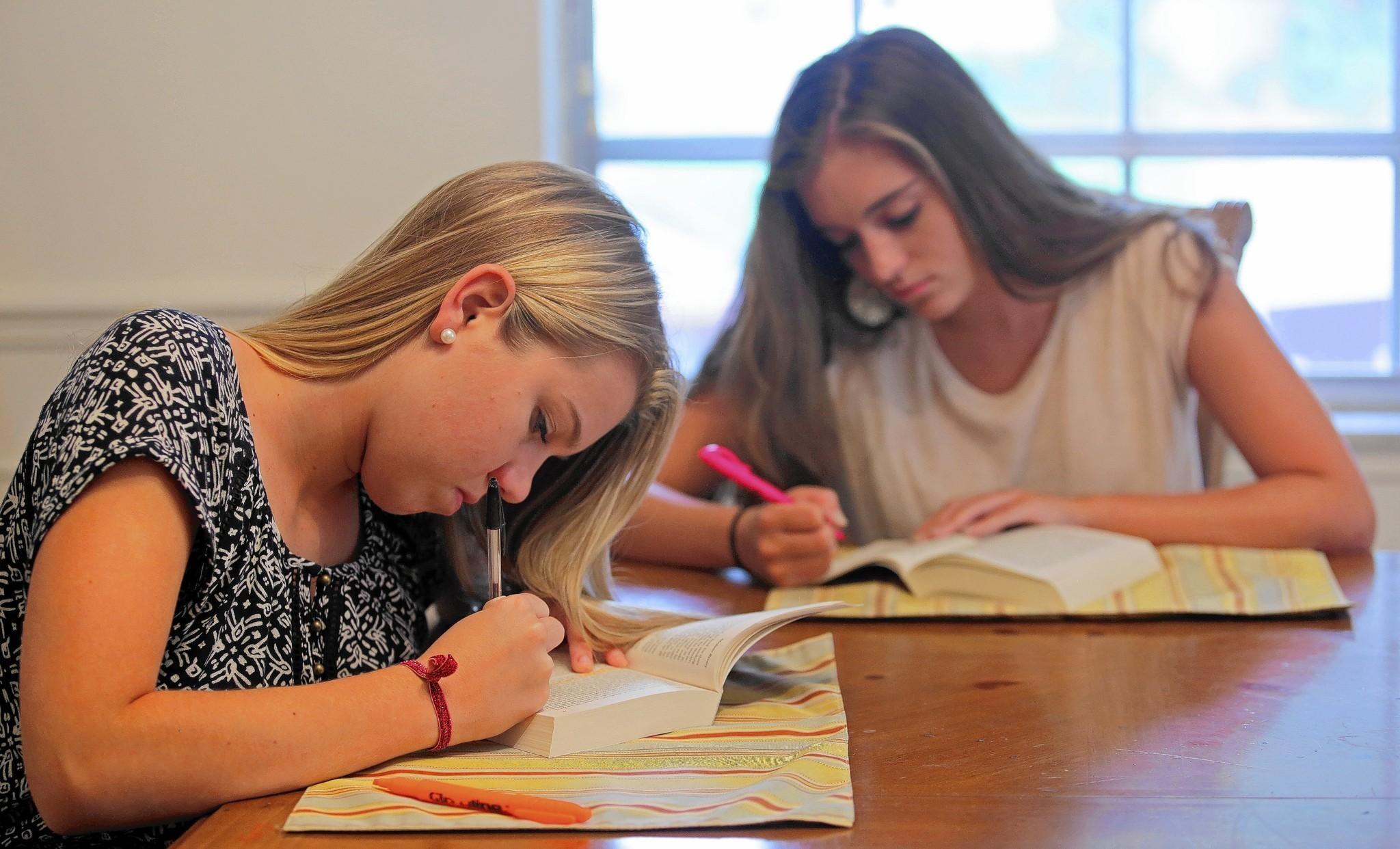high faculty summer homework