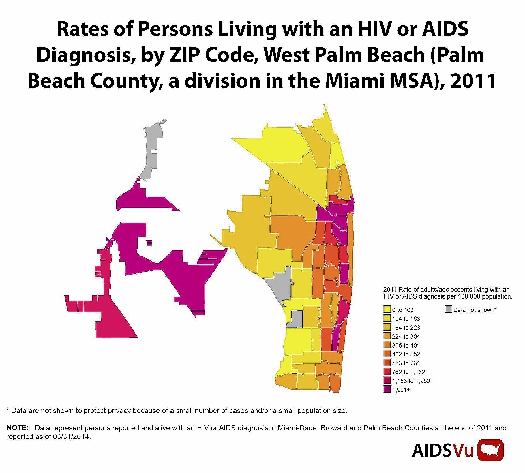 Online Mapping Tool Shows Hiv Aids Hot Spots Sun Sentinel