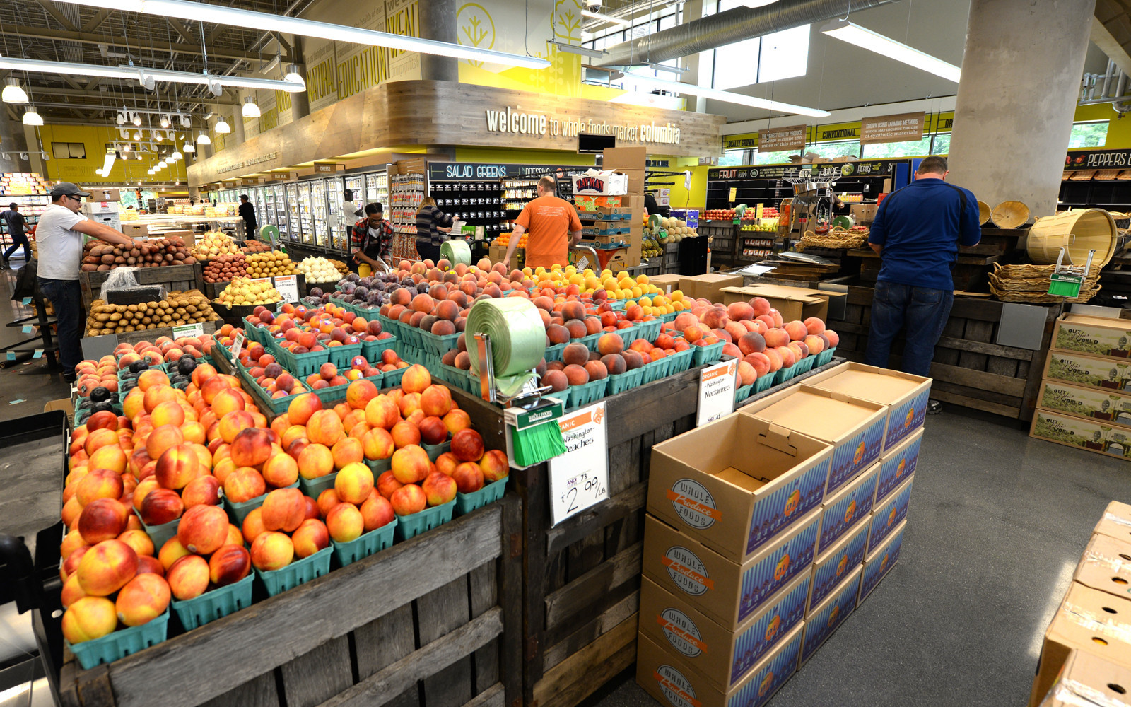 Whole Foods Columbia Opens To Droves Of Shoppers Columbia Flier