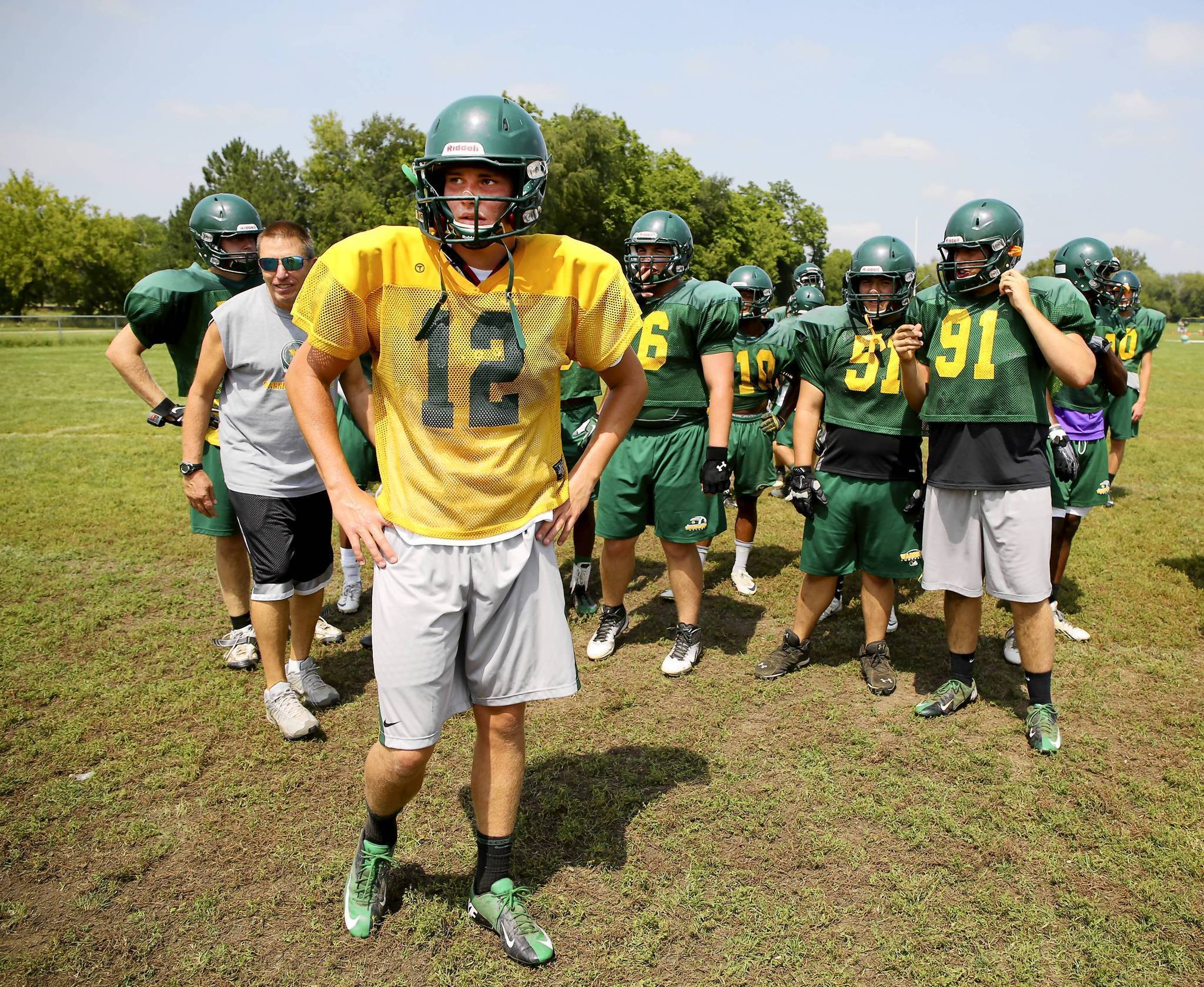 Tony Durns No 18 Waubonsie Valley Relying On Defense To Get Back