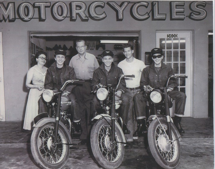 Harley Davidson Of Dallas >> Buddy Holly's 1958 Ariel Cyclone is heading to auction - LA Times