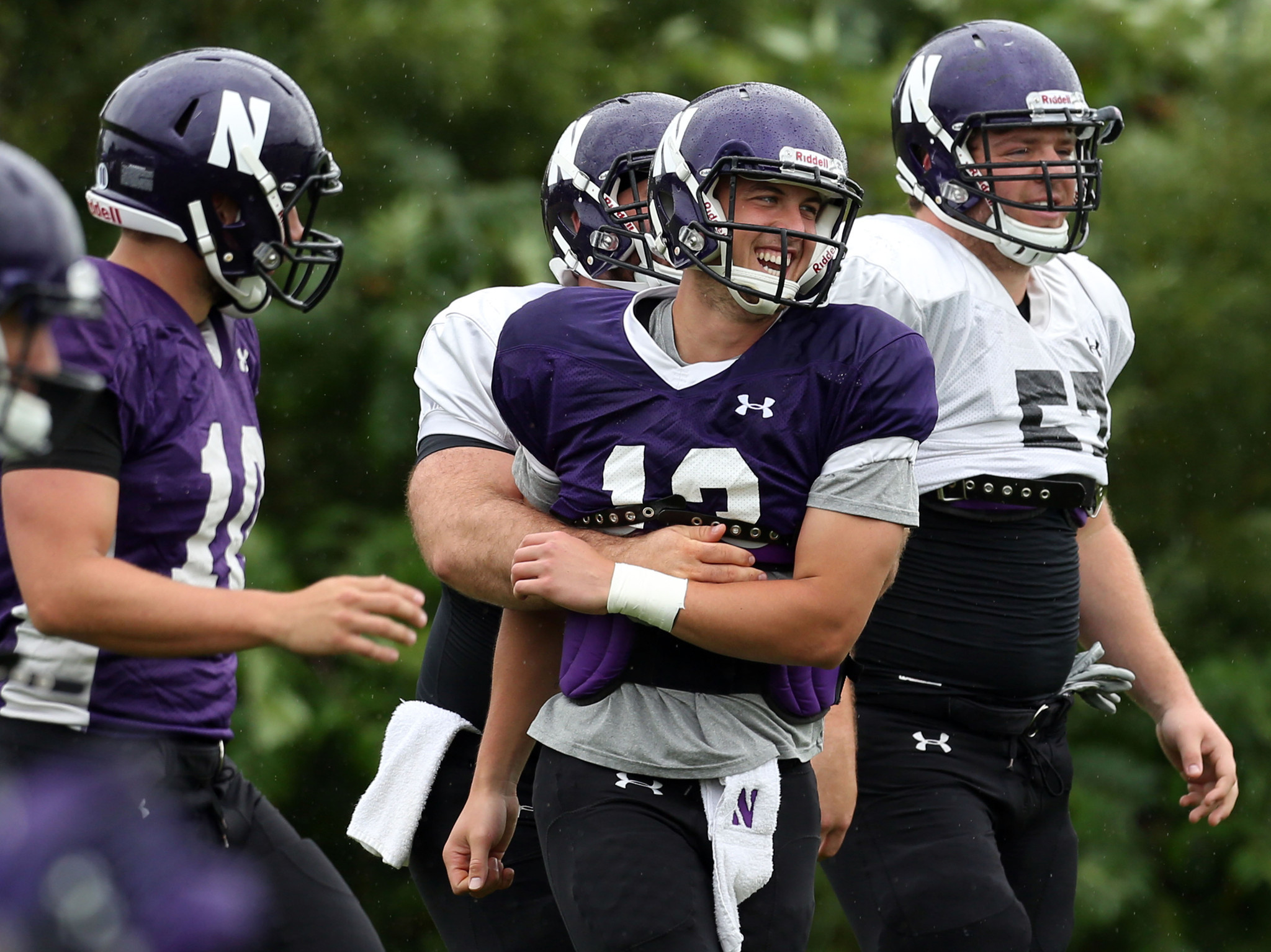 7f36a9a90 Trevor Siemian steps up as Northwestern s leader - Chicago Tribune