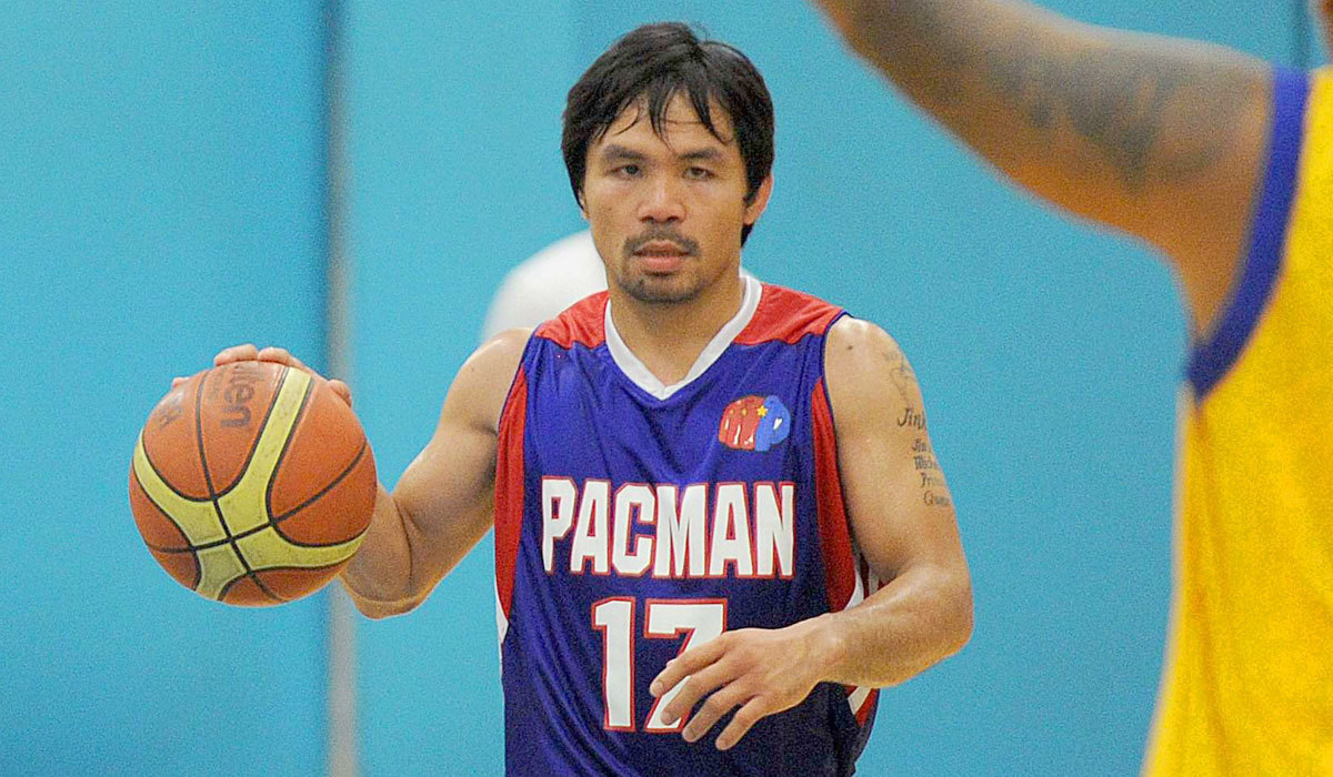 Coach Manny Pacquiao picks himself in Philippines pro basketball draft - LA Times