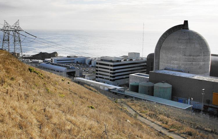A nuclear reactor at the Diablo Canyon Power Plant on California's Central Coast. (Michael Mariant / Associated Press)