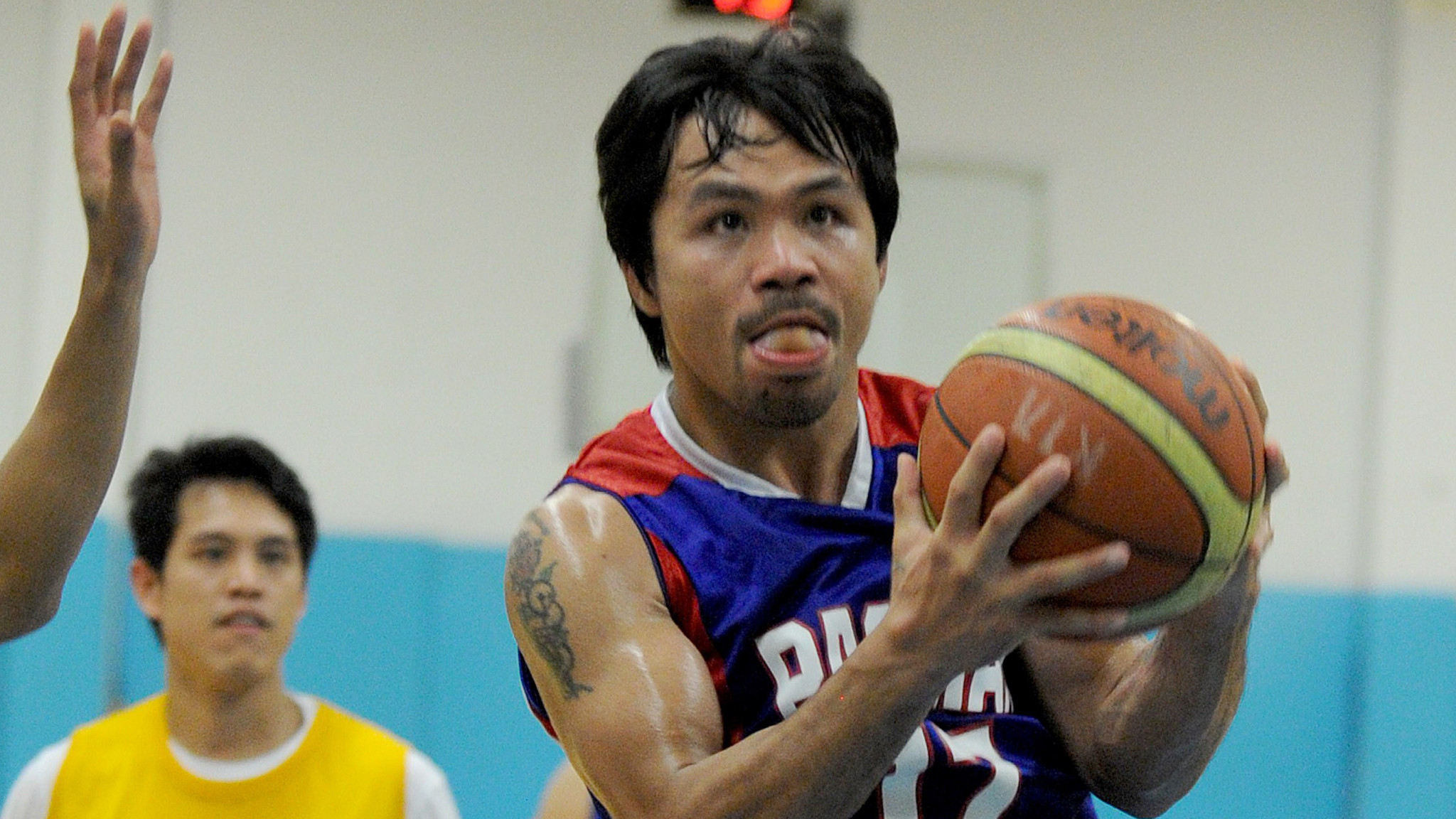Manny Pacquiao's basketball team drafts Pacquiao - LA Times