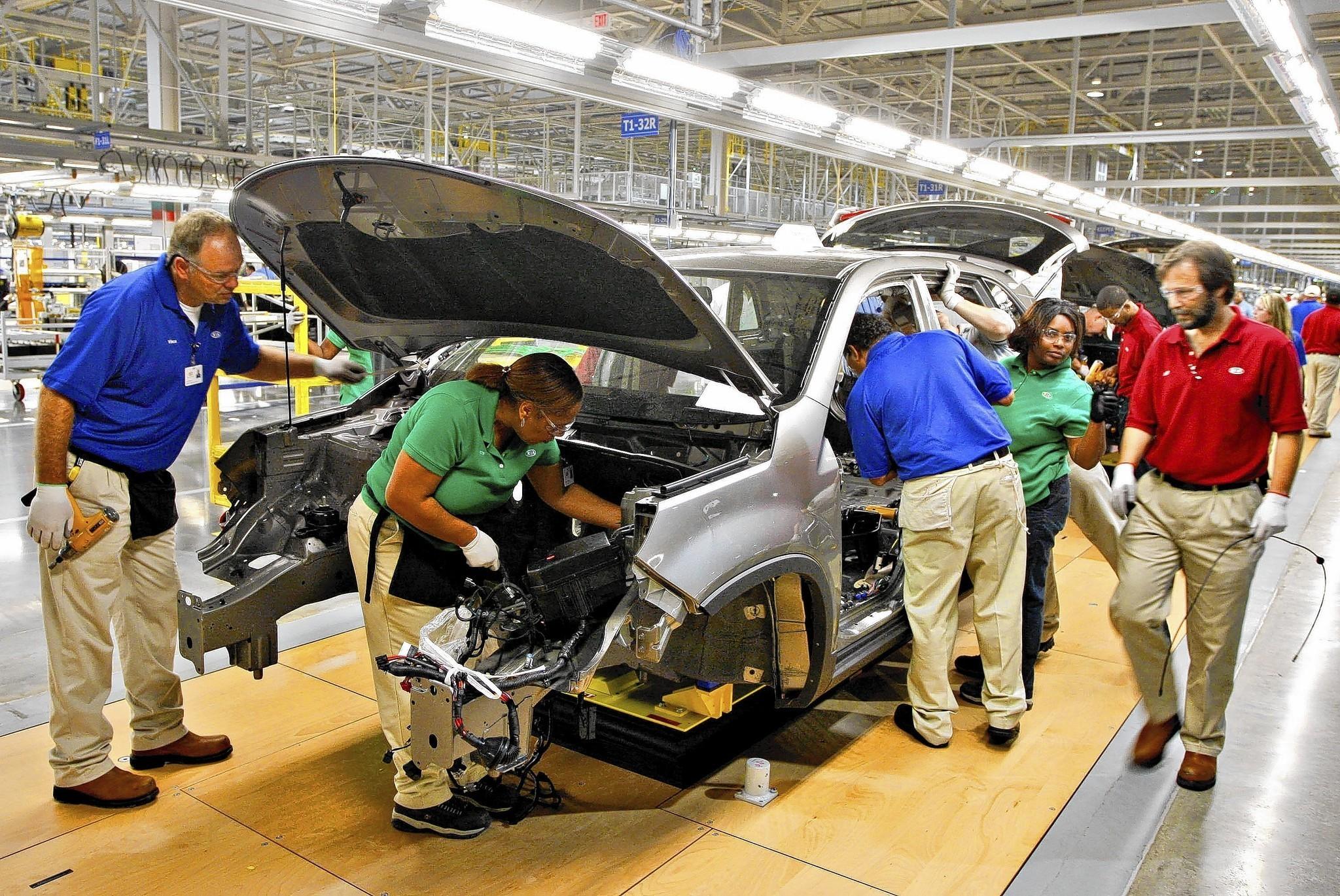 South Motors BMW >> Kia to open $1-billion auto factory in Mexico - LA Times