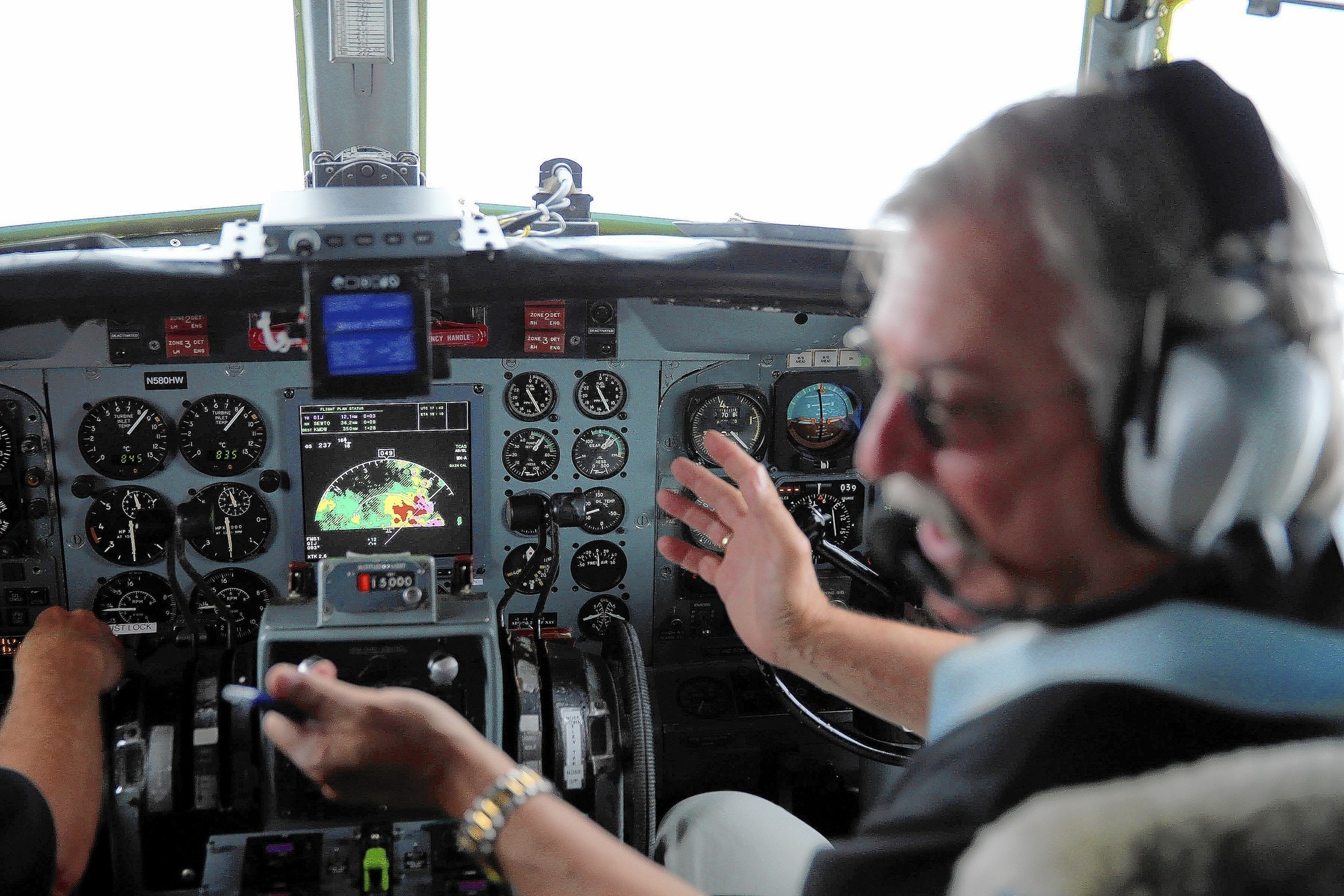 New airplane radar offers bigger picture on bad weather